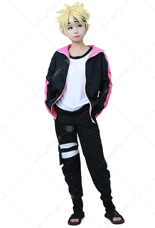 Boruto Naruto the Movie Boruto Uzumaki Cosplay Boots