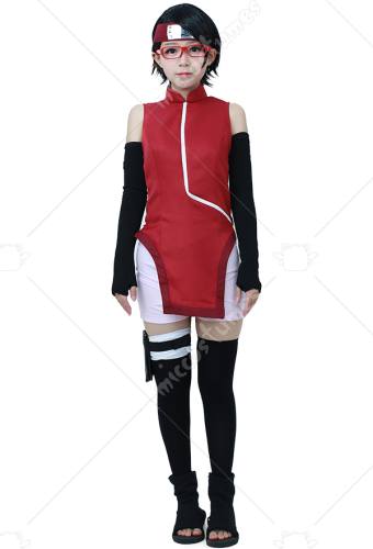 Cosplay de Sarada Uchiha dans Boruto: Naruto the Movie