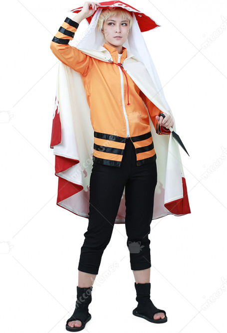 Boruto: Naruto the Movie Naruto Uzumaki Cosplay Costume