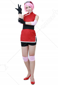 Cosplay de Sakura Uchiha dans The Last