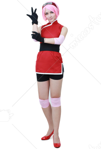 The Last: Naruto the Movie Sakura Uchiha Cosplay Costume