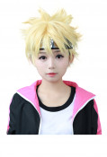 Boruto: Naruto the Movie Boruto Uzumaki Cosplay Wig