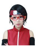 Boruto: Naruto the Movie Sarada Uchiha Cosplay Wig