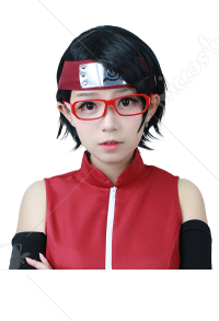 Cosplay Perruque de Sarada Uchiha dans Boruto: Naruto the Movie