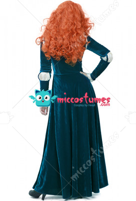 sc 1 st  Miccostumes & Plus Size Brave Princess Merida Adult Dress Cosplay Costume