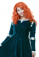 Plus Size Brave Princess Merida Adult Dress Cosplay Costume