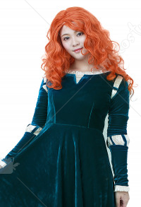 Brave Costume de Cosplay Robe de Princesse Merida pour Adulte Taille Plus