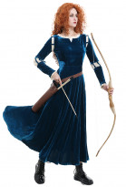 Merida Princess Merida Erwachsene Kleid Cosplay Kostüm
