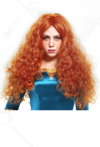 Brave Merida Adult Cosplay Wig