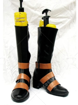 Brown Straps Black Butler Kuroshitsuji Cosplay Shoes Boots