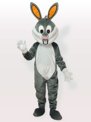 Bugs Easter Bunny Rabbit Adult Mascot Costume