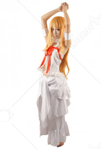 Sword Art Online ALfheim Online Asuna Cosplay Costume Women XL