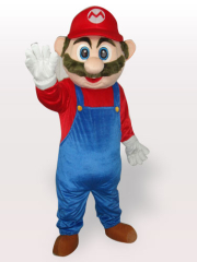 Captain Plush Adult Mascot Costume