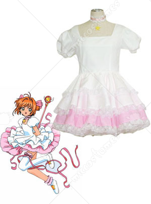 Cardcaptor Sakura Sakura Kinomoto Cosplay Dress