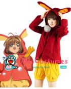 Cardcaptor Sakura Snow Bunny Cosplay Costume