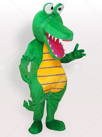 Cartoon Crocodile Adult Mascot Costume