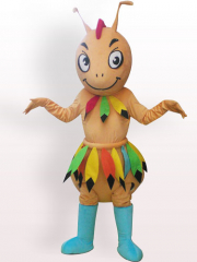 Cave man Ant Plush Adult Mascot Costume