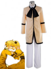 Champagne Vocaloid Servant Of Evil Cospaly Costume