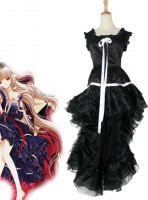 Chobits Chi Black Dress Cosplay Costume
