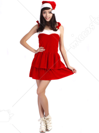 Christmas Santa Layer Dress
