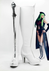 Code Geass C.C Cosplay Shoes