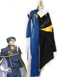 Code Geass Jeremiah Gottwald Cosplay Costume Men M