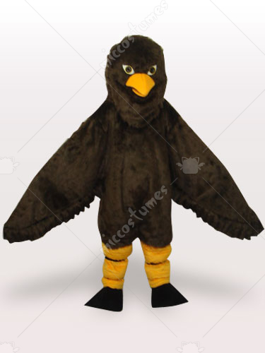 Coffee Eagle Short Push Adult Mascot Costume