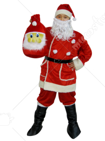 Complete Santa Suit Adult Costume for Women