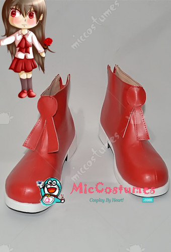 IB Mary and Garry Game Mary Cosplay Shoes