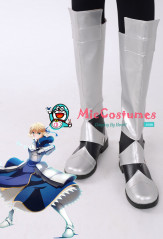 Fate Stay Night Saber Cosplay Shoes