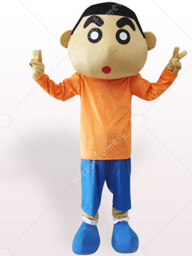 Crayon Shinchan Short Plush Adult Mascot Costume