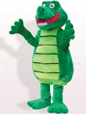Crocodile Plush Adult Mascot Costume