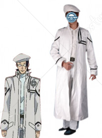 D Gray Man Komui Lee cosplay costume