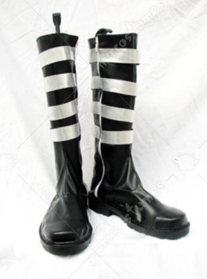 D Gray Man Lavi Cosplay Shoes Boots Black