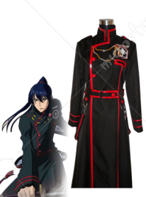 D Gray Man Yu Kanda Cosplay Uniform