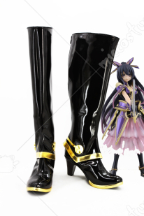 Date A Live Tohka Yatogami Cosplay Shoes High Heel