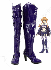 Date a Live Yuzuru Yamai Cosplay Shoes