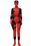 Fullset Deadpool Female Cosplay Costume