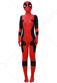 Superhero Kids Cosplay Costume Inspired by Deadpool Make to Order