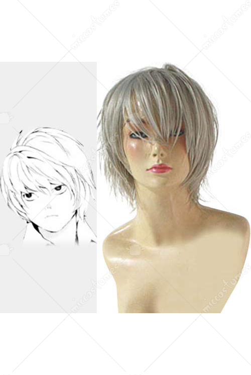 Death Note Near White Cosplay Wig for Sale