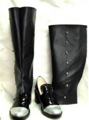 Detachable Shaft Black Butler Kuroshitsuji Cosplay Shoes Boots
