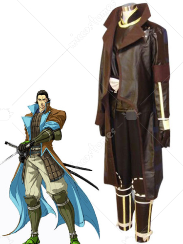 Devil Kings 2 Katakura Kagetsuna Cosplay Costume