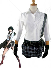 Devil May Cry 3 Dantes Awakening Lady Cosplay Costume