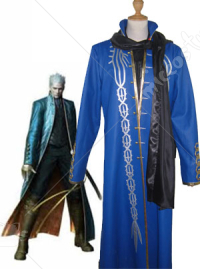 Devil May Cry 3 Vergil Vergil Cosplay Costume
