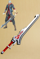 Devil May Cry Nero Sword Red Queen