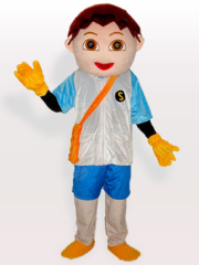 Diego the Adventure Boy Adult Mascot Costume
