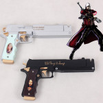 New Devil May Cry Dante Cosplay Guns Ebony & Ivory Weapon