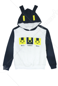 Dramatical Murder DMMd Noiz knitted Sweater Hoodies Cosplay Costume