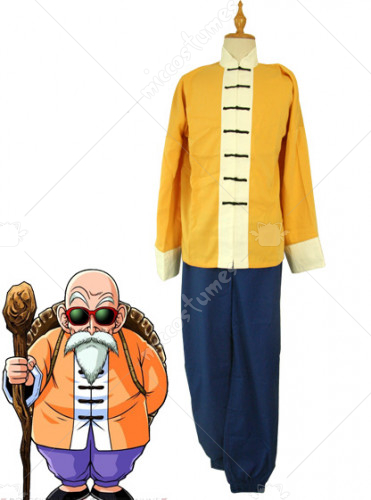Dragon Ball Roshi Cosplay Costume