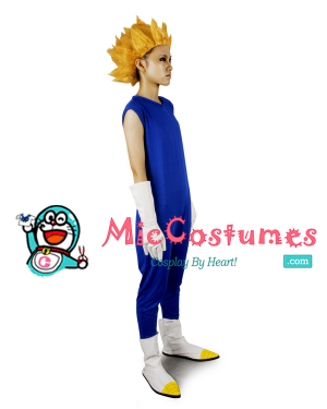 Dragon Ball Vegeta Zentai Cosplay Costume